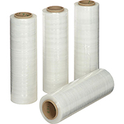 "Stretch Wrap Film 16"" x 1500' - 65 Gauge Clear For Hand Dispenser - Pkg Qty 4"