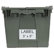 "Aigner BB-35 Label Holder 3""x5"" for Shipping Containers Price per Pack of 25"