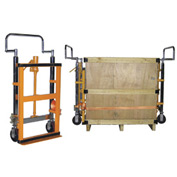 Hand Operated Hydraulic Furniture & Equipment Moving Dolly (Pair) 3950 Lb. Capacity