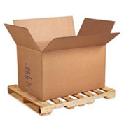 "Full Overlap Bottom Container Double Wall Corrugated Box 41"" x 28-3/4"" x 25-1/2"" - 5 Pack"