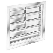 "Manual Shutters for 48"" Exhaust Fans"