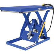 Vestil Rotary Air Powered Hydraulic Scissor Lift Table AHLT-4848-3-43 48x48