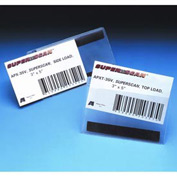 "Label Holders, 5"" x 7"", Clear, Self Adhesive - Side Load (25 pcs/pkg)"