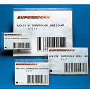 "Label Holders, 2"" x 3-1/2"", Clear, Full Magnetic (50 pcs/pkg)"