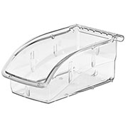 """Akro-Mils Insight® Ultra-Clear Bin 305A3 Plastic Hang And Stack 7-3/8"""" X 4-1/8"""" X 3-1/4"""" - Pkg Qty 16"""