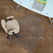 """Aleco® Anti-Static Office Chair Mat for Carpet - 45"""" x 53"""" with Lip - Straight Edge"""