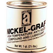 NICKEL-GRAF™ Nickel & Graphite Based Anti-Seize 2600°F, 2-1/2 Lb. Can 12/Case - 13025 - Pkg Qty 12