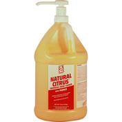 NATURAL CITRUS™ w/Pumice, Gallon Pump Bottle 4/Case - 49230 - Pkg Qty 4
