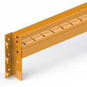 "Cresswell Clip-On Step-Style Beam for Pallet Racks - 144"" x 6"" - 2"" Beam Depth"