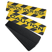 "No Skidding Self-Adhesive Anti-Slip Floor Tapes - 2""Wx60'L - Anti-Slip Photoluminescent Grit Tape"