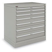 "Metalia Drawer Cabinet - 7 Drawers - 152 Compartments - 36""Wx24""D"