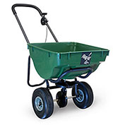"High-Capacity Spreader, 100 Lb. Capacity, 10"" Tires, Green"
