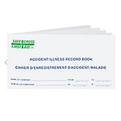 Accident/Illness Record Book - Small