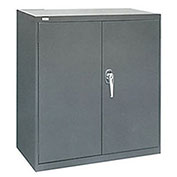 "ALB Plus Heavy-Duty Welded Industrial Storage Cabinet - 36x18x40"" - Light grey"