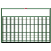 "Behlen Country Wire-Filled 20 Gauge Steel Gate 44"" Usable Length, 48""L x 1-5/8""W x 50""H, Green"