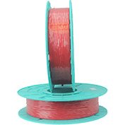 17-2000 Red Non-Metallic Twist Tie Material - 2000 ft. per spool