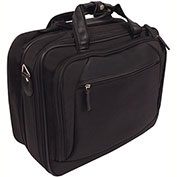 Bond Street 465746 Nylon Business Case on Wheels, Black