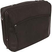 Bond Street 746027 Premium Nylon Business Case on Wheels, Black