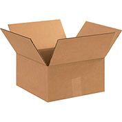 """Corrugated Boxes 12"""" x 12"""" x 6"""" 200lb. Test/ECT-32 25 Pack"""