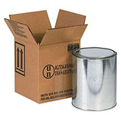 "One - 1 Gallon Haz Mat Box, 6-7/8"" x 6-7/8"" x 7-7/8"", 20/Pack"