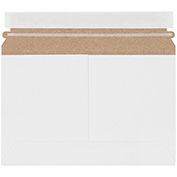 "White Utility Pressure Sensitive Closure Flat Mailer 9-1/2"" x 6"" - 200 Pack"