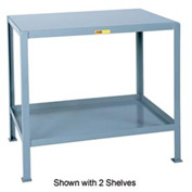 Little Giant®  Machine Table, 3 Shelves, 24 x 36
