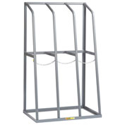 "Little Giant® BR-2436-60 Vertical Bar Rack 24""D x 36""W x 60""H -3 Bays, 1500 LB Cap. Per Bay"