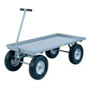 Little Giant® Wagon Truck Lip Deck 24x48 Pneumatic Whls, 3000 lb. Capacity