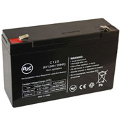 AJC® Rhino SLA12-6S Power Wheels 6V 12Ah Sealed Lead Acid Battery