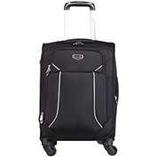 Bugatti SLG10112 3 Piece Soft Luggage Set, Black