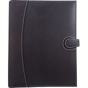 Bugatti WRC1505 Bonded & Synthetic Leather Writing Case, Black