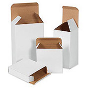 "White Chip Carton 3"" x 3"" x 6"" - 250 Pack"