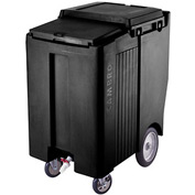 Cambro ICS200TB110 - Ice Caddy, Black, 200 Lbs. Cap., Tall