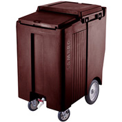 Cambro ICS200TB131 - Ice Caddy, Dark Brown, 200 Lbs. Cap., Tall