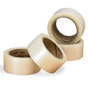 "3M™ Scotch® 371 Carton Sealing Tape 3"" x 55 Yds. 1.9 Mil Clear  - Pkg Qty 24"