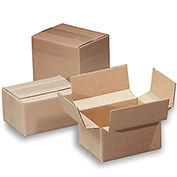 "Variable-Height 200-Lb. Test Corrugated Shipping Boxes - 11-1/4x8-3/4x5"" - Pkg Qty 25"