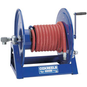 "Coxreels 1125-4-100 1/2"" x 100' Capacity 3000 PSI Hand Crank Hose Reel (Hose Not Included)"
