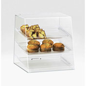 "Cal-Mil 261 Slant Front Display Case 15-1/2""W x 15""D x 16""H"