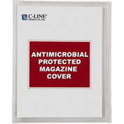C-Line Products Magazine Cover with Antimicrobial Protection, 25/BX