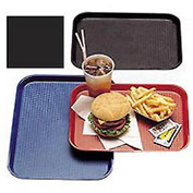 "Cambro 1216FF110 - Tray Fast Food 12"" x 16"",  Black - Pkg Qty 24"