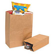 "#8 Grocery Bag 6-1/8""W x 4""D x 12-3/8""H 500 Pack"