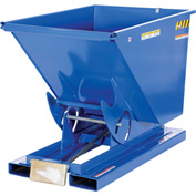 Vestil 2 Cu. Yd. Self-Dumping Steel Hopper with Bump Release D-200-LD 2000 Lb.