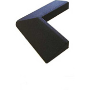 Dinoflex Corner, 2-1/4&quot;H x 15-1/2&quot;L x 15-1/2&quot;W, .41 ft<sup>2</sup> , Black 303357011