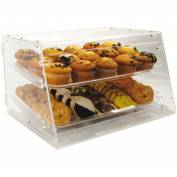 Winco ADC-2 2-Tray Display Case