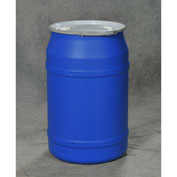 Eagle Blue Plastic Lab Pack Drum 1656MBBG with Metal Lever Lock & Bung Lid - Straight Sided - 55 Gal