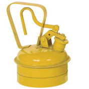 Eagle Type I Safety Can - 1 Quart - Yellow, UI-2-SY