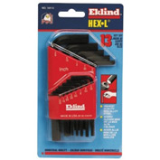 "Eklind 10113 .050-3/8"" 13 Pc. Short Arm SAE Hex Key Set"