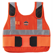 Ergodyne® Chill-Its® 6225HV Phase Change, Vest Only, Orange, L/XL