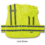 Ergodyne® GloWear® 8244PSV Expandable Public Safety Vest, Orange, XL/2XL