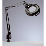 """Electrix 7121 3-Diopter Lens Fluorescent Magnifier W/Clamp-On, 45"""" Reach, 120V, 22W"""